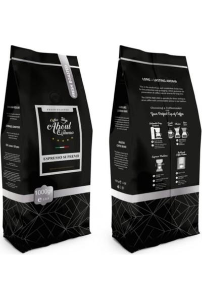Aboul Qahwaa Espresso Supremo 1000 gr Çekirdek Kahve