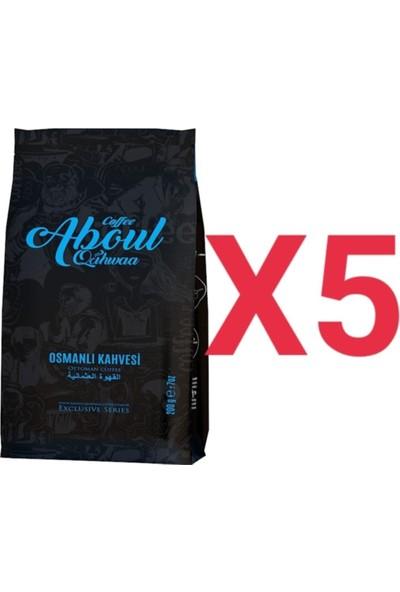 Aboul Qahwaa Blok Bottum 5'li Osmanlı Kahvesi 200 gr