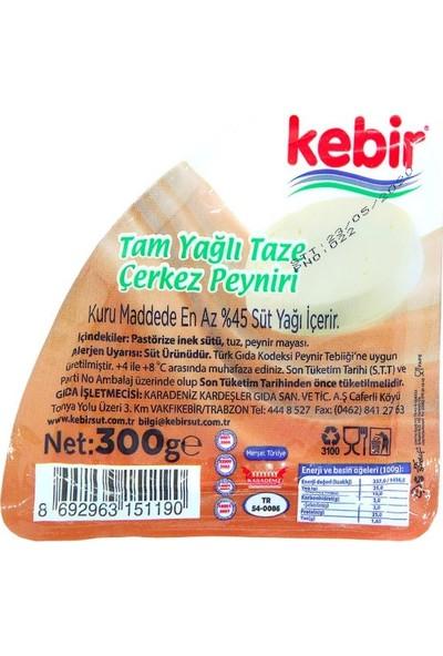 Kebir Tam Yağlı Taze Çerkez Peyniri 300 gr