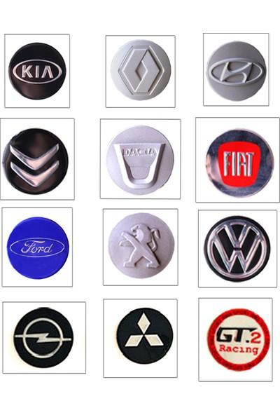 "2A Fiat Doblo Bijonlu Jant Kapağı 15"" Plastik 4 Adet (1 Set) + Logo"
