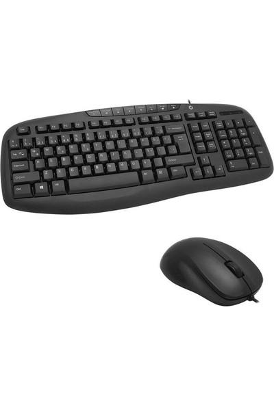Frısby FK-4825QU USB Q Kablolu Klavye-Mouse Set