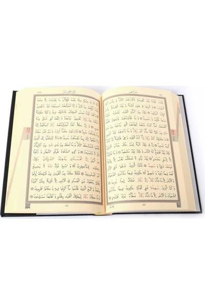 Kabe Kapaklı Kur'an-I Kerim (2 Renkli, Cami Boy, Mühürlü)