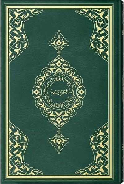 Büyük Cami Boy Kuran-I Kerim (2 Renkli, Mühürlü)