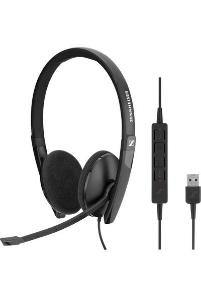 Sennheiser SC 160 USB CTRL Kablolu Çağrı Merkezi Kulaklığı