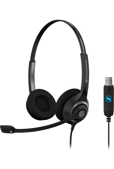 Sennheiser SC 260 USB HD Kablolu Çağrı Merkezi Kulaklığı