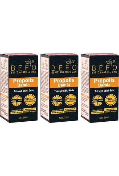 Bee'o Propolis Damla 20 ml - 3'lü