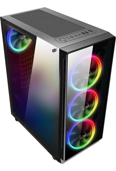 "Turbox ATM9918677 Intel Core i5 3470 16GB 240GB SSD 4GB GTX1050Ti Freedos 21.5"" Full HD Oyun Bilgisayarı"