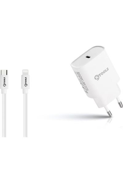 Ktools Boost Pd 18W 3A Iphone Lightning USB C Hızlı Şarj Cihazı