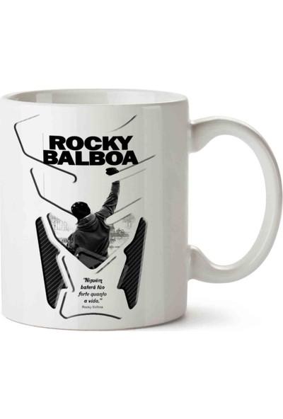 Art Hediye Rocky Balboa Poster Kupa Bardak