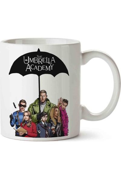 Art Hediye The Umbrella Academy Şemsiye Kupa Bardak