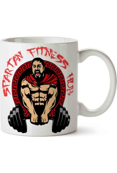 Art Hediye Spartans Gym Fitness Satılan Kupa Bardak