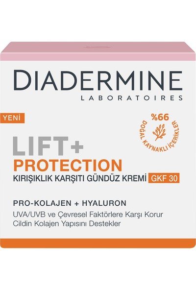 Diadermine Lift + Faktör 30 Güneş Koruyucu Krem 50 Ml
