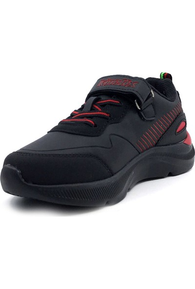 Kinetix 100534386 Roars Siyah Kırmızı Erkek Çocuk Spor Ayakkabı