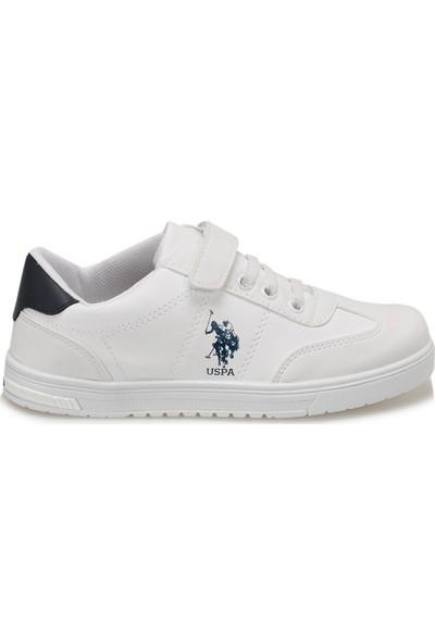 U.S Polo Glock Beyaz Erkek Çocuk Spor Ayakkabı