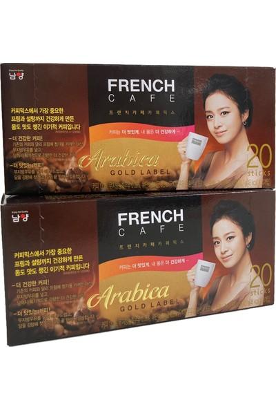 French Cafe Kore Kahve French Cafe Arabica 3ü1 Arada Kahve 2'li Set