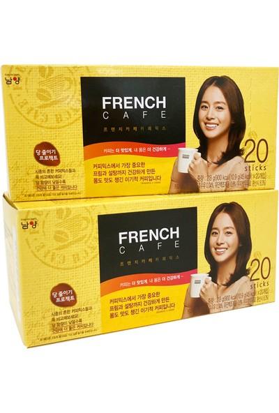 French Cafe Kore Kahve French Cafe Mix 3ü1 Arada Kahve 2'li Set