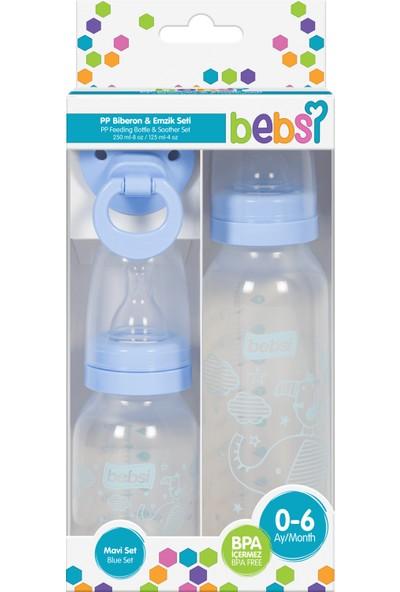 Bebsi 3'lü Set Pp- Mavi