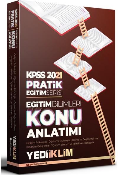 Yediiklim Yayınları 2021 KPSS Pratik Eğitim Serisi- Eğitim Bilimleri Konu Anlatımı