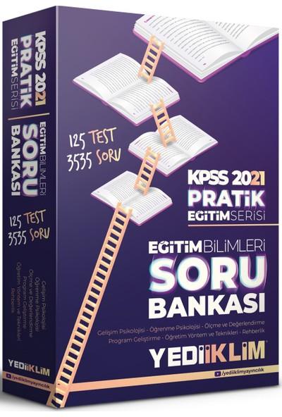 Yediiklim Yayınları 2021 Kpss Pratik Eğitim Serisi Eğitim Bilimleri Soru Bankası