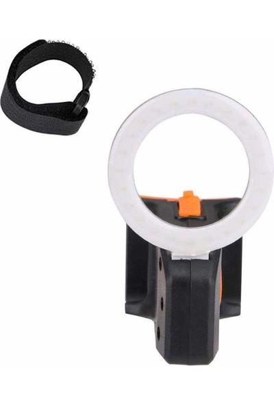 Pozitif Bisiklet Far USB Sarj 5 Aydınlatmalı YD-001