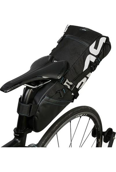 Roswheel Suya Dayanıklı 8l Bisiklet Kuyruk Çantası - Siyah -131414