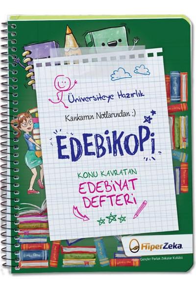 Hiper Zeka Yayınları Üniversiteye Hazırlık Konu Kavratan Tyt Edebiyat Defteri Edebi Kopi
