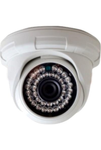 QROMAX PRO-D136B 1'li 5 Megapiksel SONY LENS 720P Aptina Sensör Plastik Kasa Güvenlik Kamerası Seti