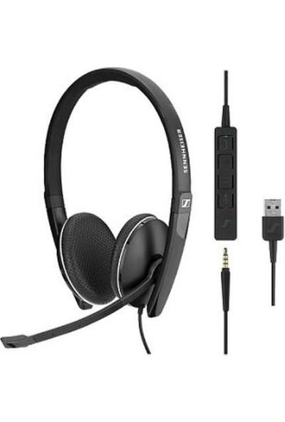 Sennheiser Sc 165 USB Ctrl Çift Taraflı USB Kablolu Uc Kulaklığı