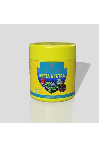 Rotifish Beta ve Tetra Balığı Yemi 50 ml 18 gr