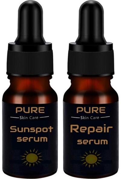 Pure Leke Giderici Serum + Onarıcı Serum 2'si 1 Arada Y89