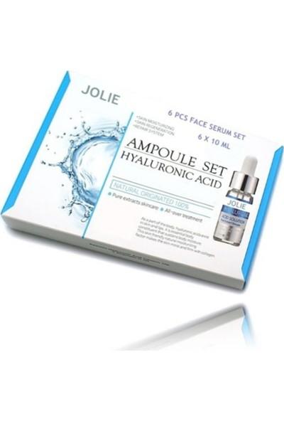 Jolie 6'lı Hyaluronic Acid Ampül Set JL80