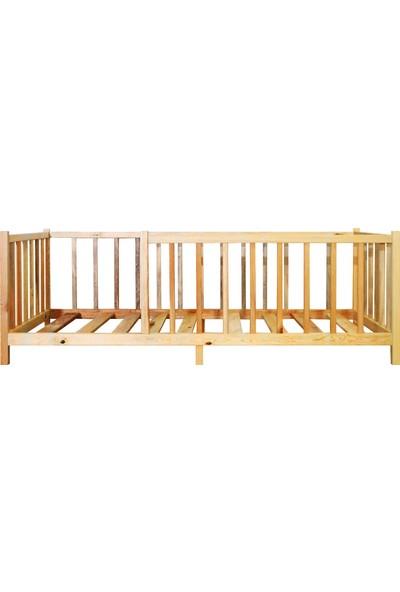 Ürün Şehri Montessori Yatak Doğal Ahşap Çocuk YATAK-CMY007