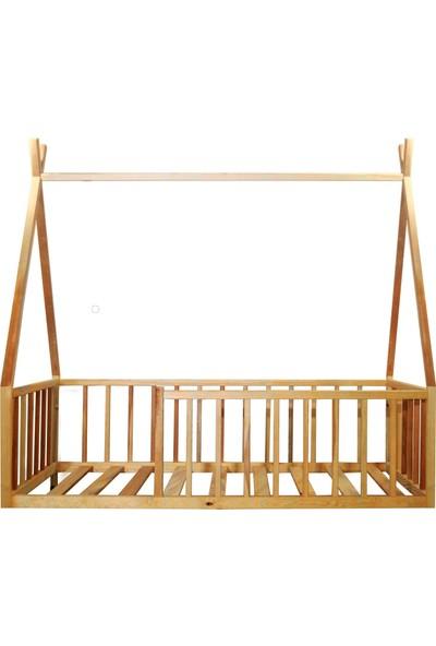 Ürün Şehri Montessori Yatak Doğal Ahşap Çocuk YATAK-CMY001