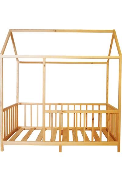 Ürün Şehri Montessori Yatak Doğal Ahşap Çocuk YATAK-CMY010