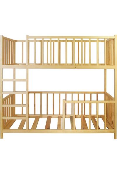 Ürün Şehri Montessori Yatak Ranza Doğal Ahşap Çocuk YATAK-CMY018