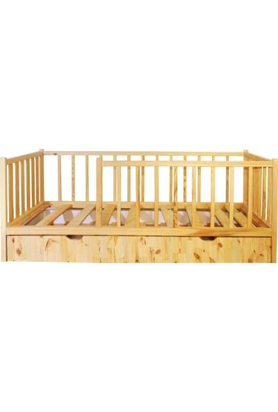 Ürün Şehri Montessori Yatak Yavrulu Doğal Ahşap Çocuk YATAK-CMY020