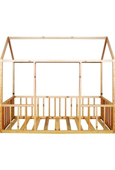 Ürün Şehri Montessori Yatak Doğal Ahşap Çocuk YATAK-CMY005