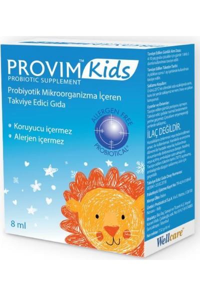 Wellcare Provim Kids Probiyotik Damla 8 ml