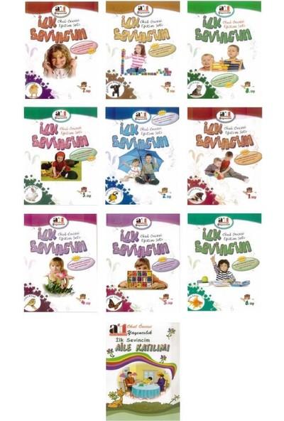 A1 İlk Sevincim Anasınıfı Eğitim Seti 10 Kitap