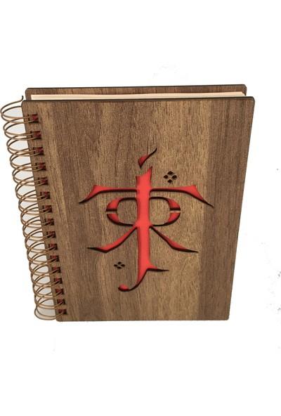 Good Time Mdf Lazer Kesim Spiralli Tolkien Vı Signature Alize Defter