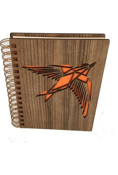 Good Time Mdf Lazer Kesim Animal Bird Iıı Defter