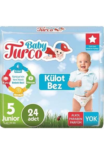 Baby Turco Külot Bez 5 Beden 480'li