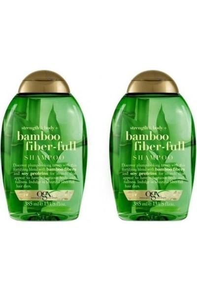 Organix Bamboo Fiber-Full Şampuan 2x385 ml