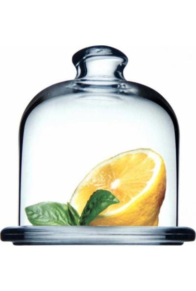 Paşabahçe Basic Kapaklı Cam Limonluk Limon Saklama Kabı P98397
