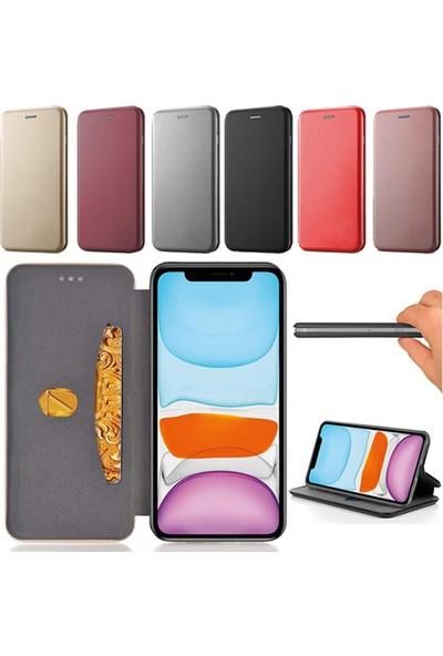 Smart Tech Samsung Galaxy A20S Kart Cepli Lüx Cüzdan Kılıf
