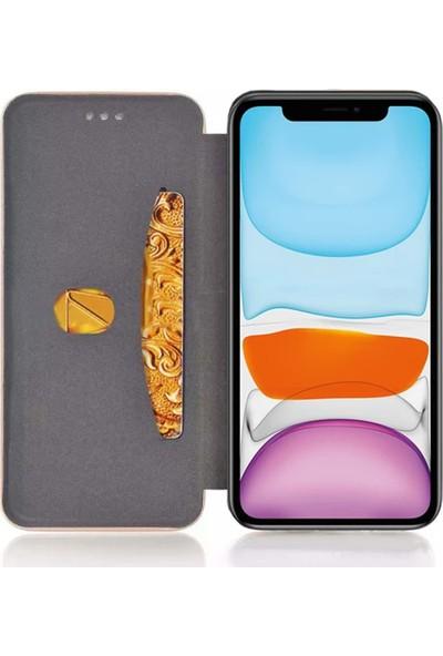 Smart Tech Samsung Galaxy A30 Kart Cepli Lüx Cüzdan Kılıf