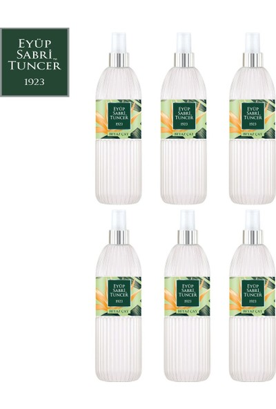 Eyüp Sabri Tuncer Beyaz Çay | 150 ml Sprey Kolonya x 6 Adet