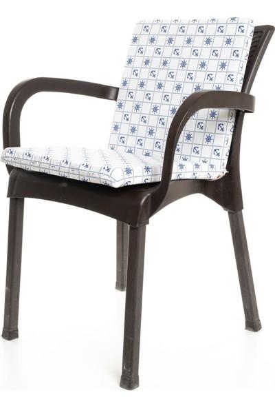 Mertim Çapa Desenli Sandalye Minderi