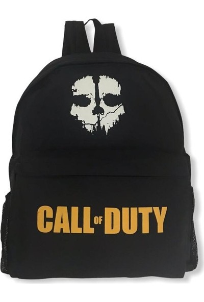 Boss Sırt Çantası Call Of Duty Logolu Siyah
