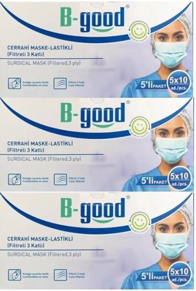 B-Good Cerrahi Maske 3'lü